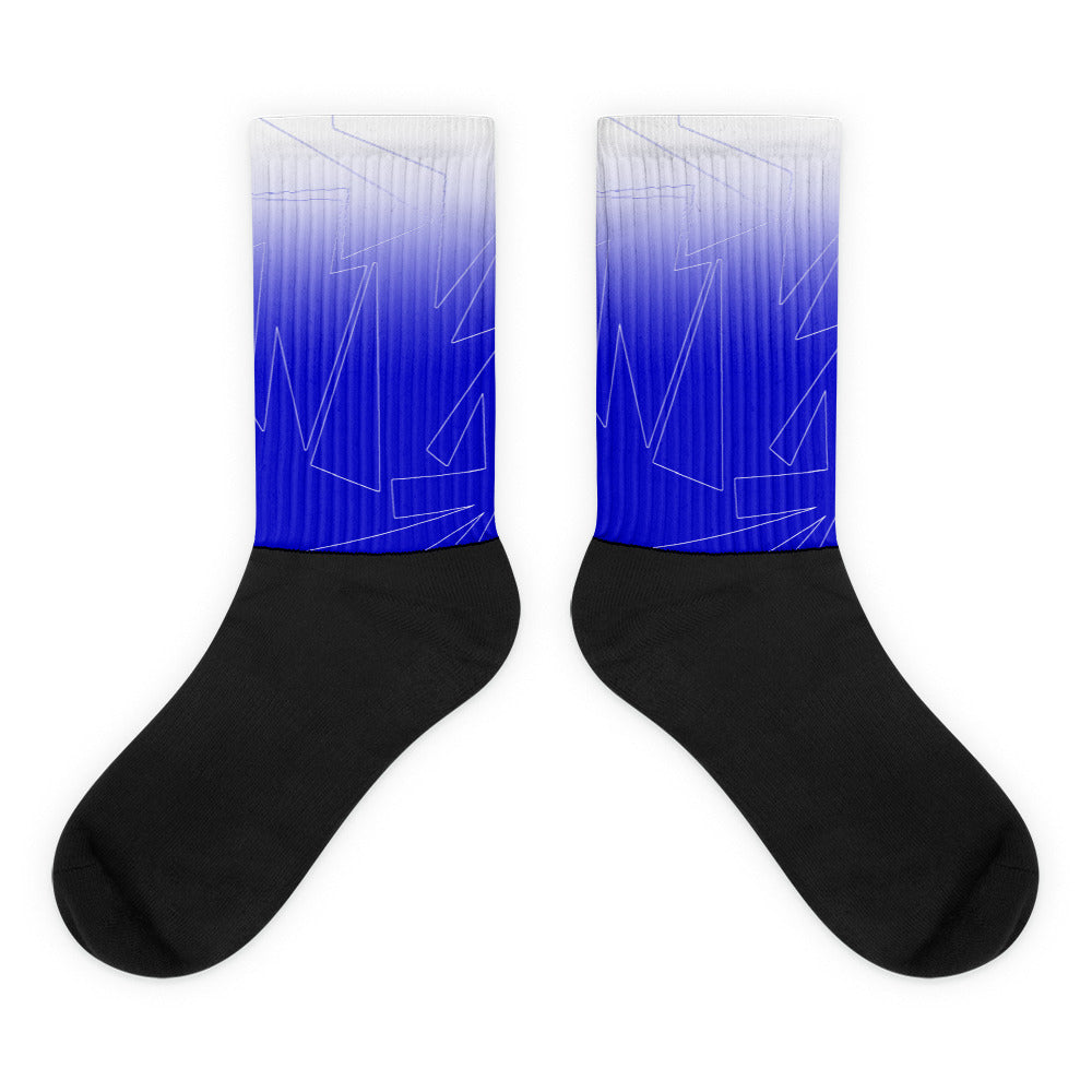 Turn It Up! Blue - Socks