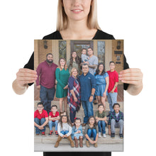 Load image into Gallery viewer, Canvas - Torres Family Wrapped Canvas