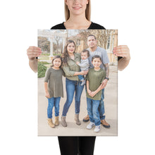 Load image into Gallery viewer, Canvas Torres Family Photos 16x20 / 8x10