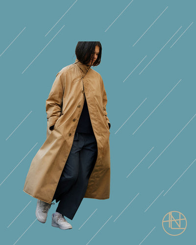 nanamica girl in Daikanyama Vol. 24 Classic-modern rainy day companion