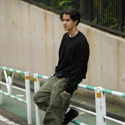 "nanamica boy in Daikanyama Vol.15 ""Sweatshirt that dries well"""