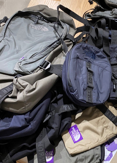 THE NORTH FACE PURPLE LABEL ACCESSORIES arrived. In store only.