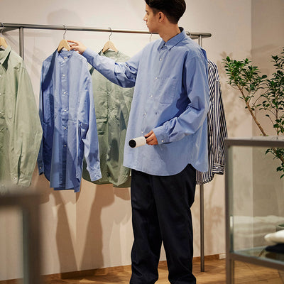 nanamica boy in Daikanyama Vol. 9 My everyday shirt
