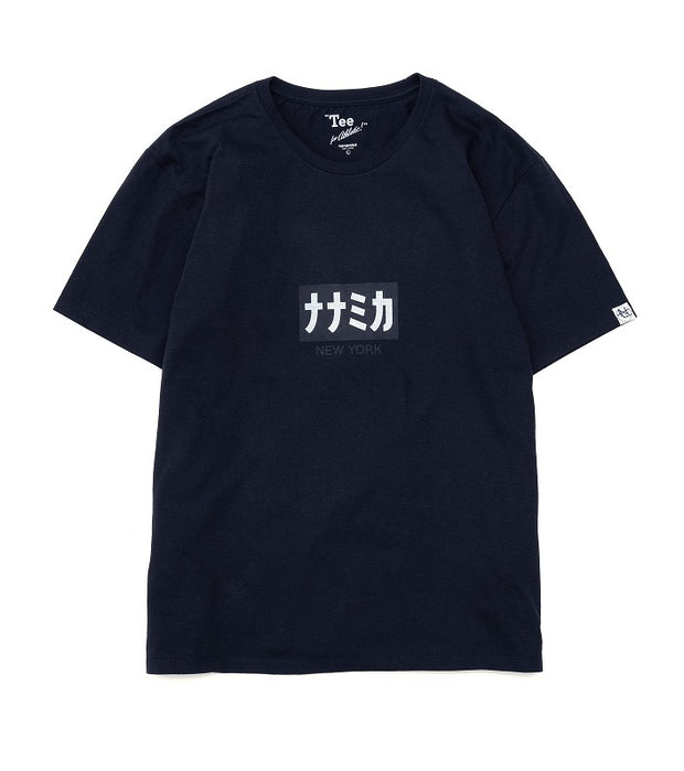 SUHS093_Graphic H/S Tee_N(Navy)