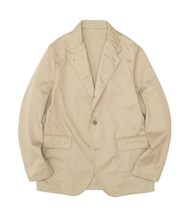 SUAS103_Chino Club Jacket_KK(Khaki)