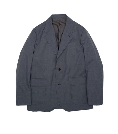 SUAS107_Club Jacket_HG(Heather Gray)