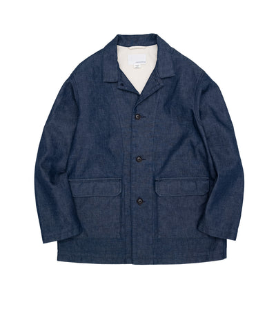 SUAS125_Denim Field Jacket_ID(Indigo)