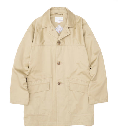 SUBS102_Chino Short Soutien Collar Coat_KK(Khaki)