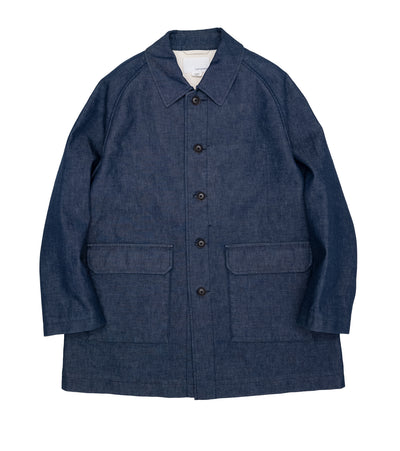 SUBS124_Denim Short Field Coat_ID(Indigo)