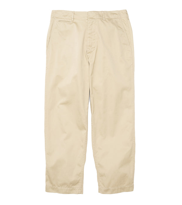 SUCF912_Wide Chino Pants_KK(Khaki)