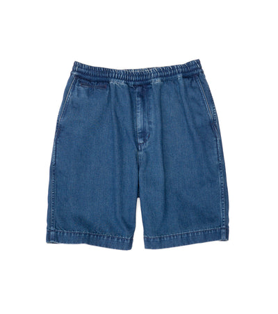 SUDS135_Denim Easy Shorts_IB(Indigo Bleach)