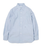 SUGS006_Button Down Wind Shirt_BB(Blue)