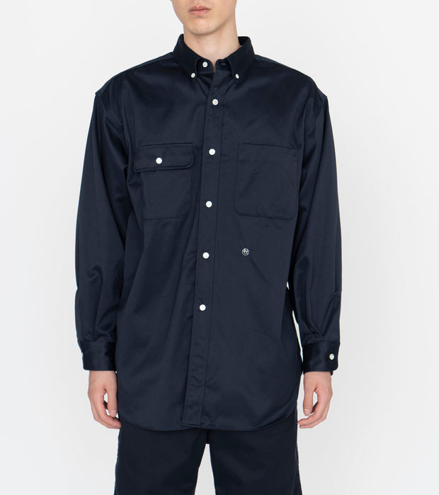 SUGS104_Big Button Down Chino Wind Shirt_2