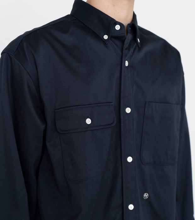 SUGS104_Big Button Down Chino Wind Shirt_7