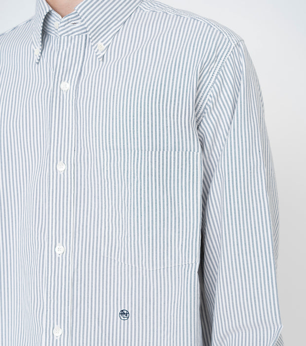 SUGS109_Button Down Stripe Wind Shirt_6