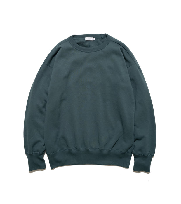 SUHS115_Crew Neck Sweat_G(Green)
