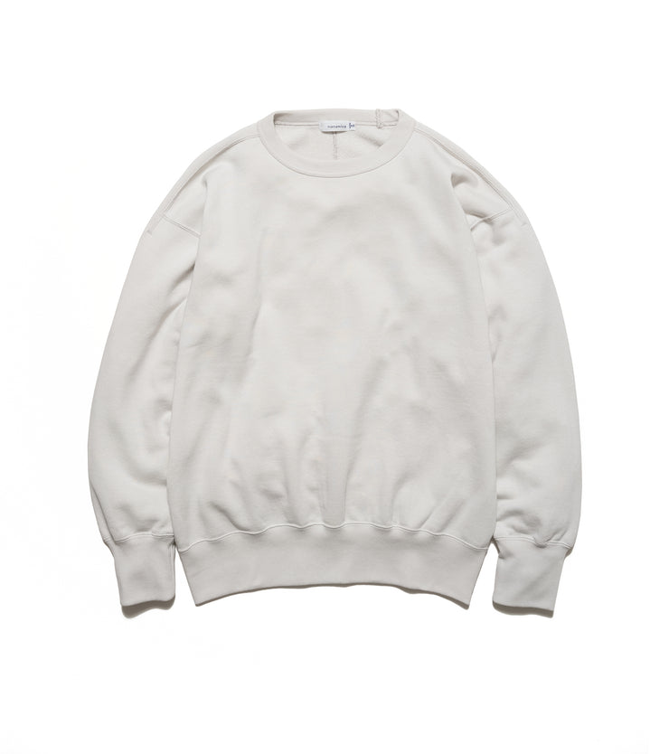 SUHS115_Crew Neck Sweat_LH(Light Gray)