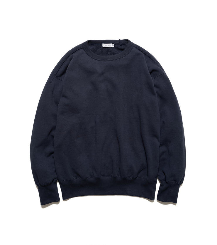 SUHS115_Crew Neck Sweat_N(Navy)
