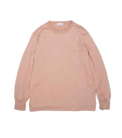 SUHS117_L/S Pocket Tee_LP(Light Pink)