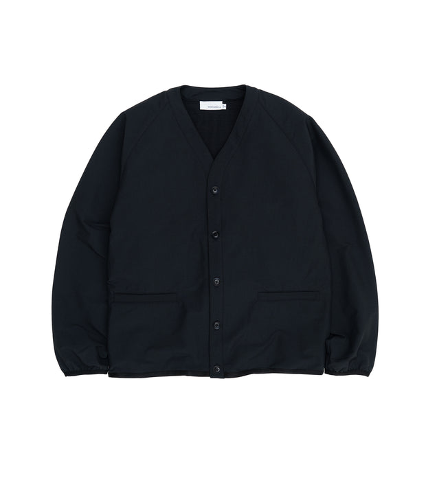 SUHS122_BREATH TUNE Cardigan_K(Black)