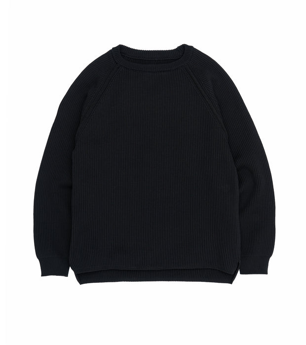 SUJS111_5G Crew Neck Sweater_K(Black)