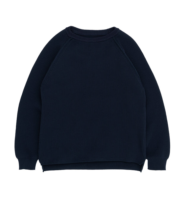SUJS111_5G Crew Neck Sweater_N(Navy)