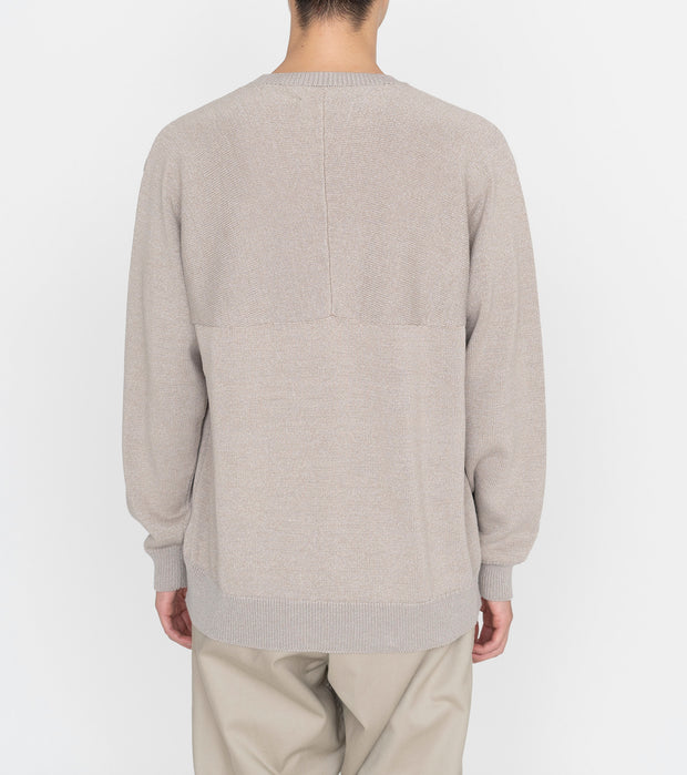 SUJS112_7G Crew Neck Sweater_4