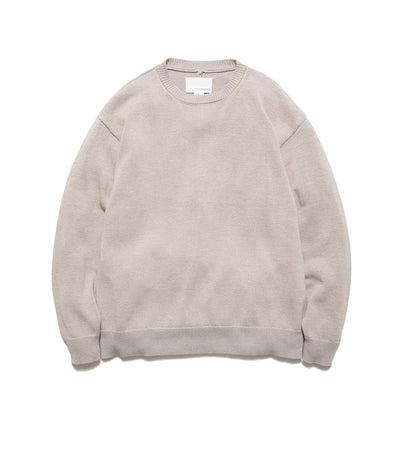 SUJS112_7G Crew Neck Sweater_BE(Beige)