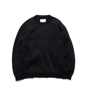 SUJS112_7G Crew Neck Sweater_K(Black)