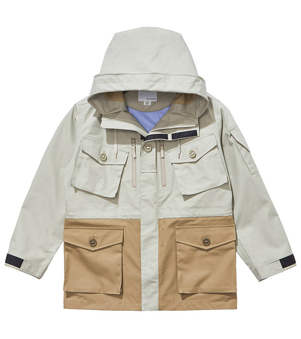 SUAS001_GORE-TEX Cruiser Jacket_PB(Pale Gray x Beige)