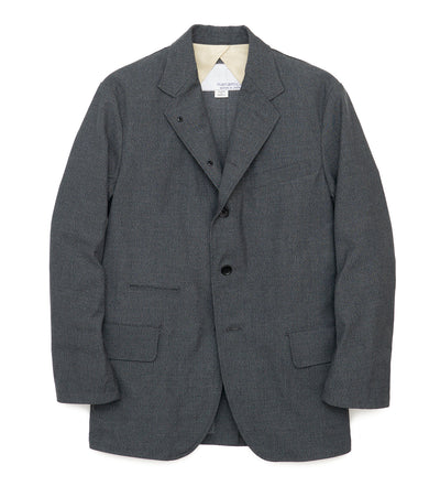 SUAF018_Club Jacket_CH(Charcoal)