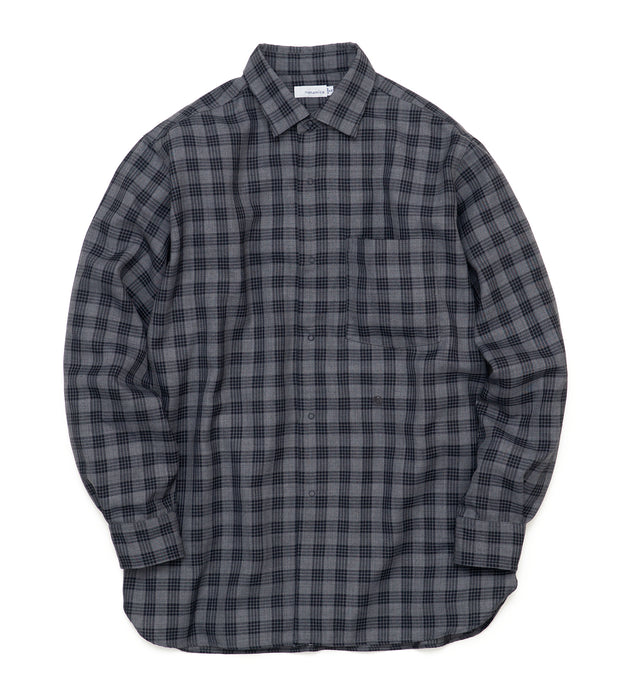 SUGF022_Regular Collar Wind Shirt_H(Gray)
