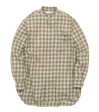 SUGF023_Band Collar Wind Shirt_BE(Beige)