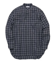 SUGF023_Band Collar Wind Shirt_H(Gray)