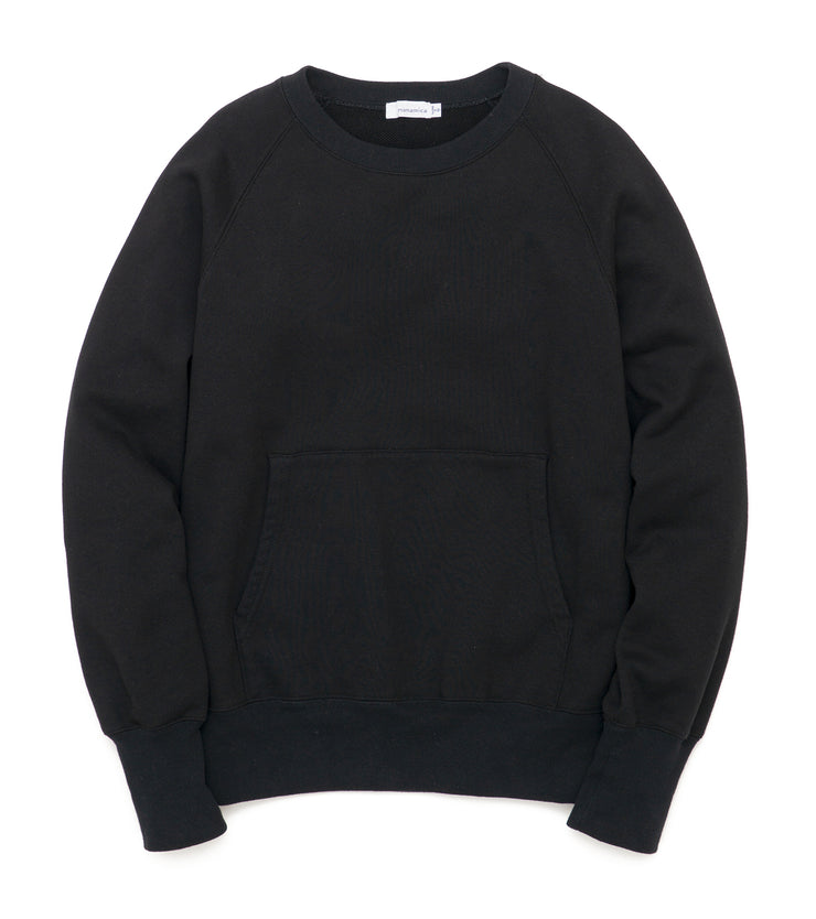 SUHF025_Crew Neck Sweat_K(Black)