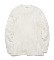 SUHF027_Crew Neck L/S Tee_OW(Off White)