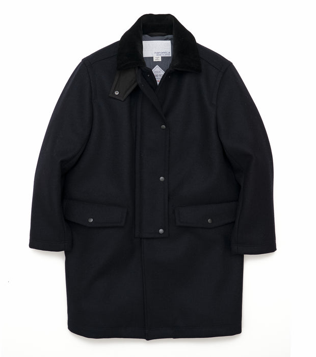SUBF044_GORE-TEX INFINIUM Harbor Coat_N(Navy)