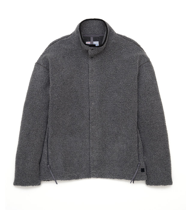 SUHF063_nanamican Fleece Jacket_CH(Charcoal)