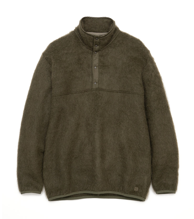 SUJF064_nanamican Pullover Sweater_OL(Olive)