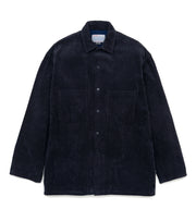 SUGF065_nanamican Shirt Jacket_VN(Vintage Navy)