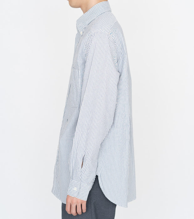 SUGS109_Button Down Stripe Wind Shirt_3