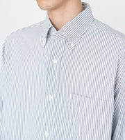 SUGS109_Button Down Stripe Wind Shirt_5