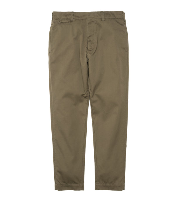 SUCF912_Tapered Chino Pants_OL(Olive)