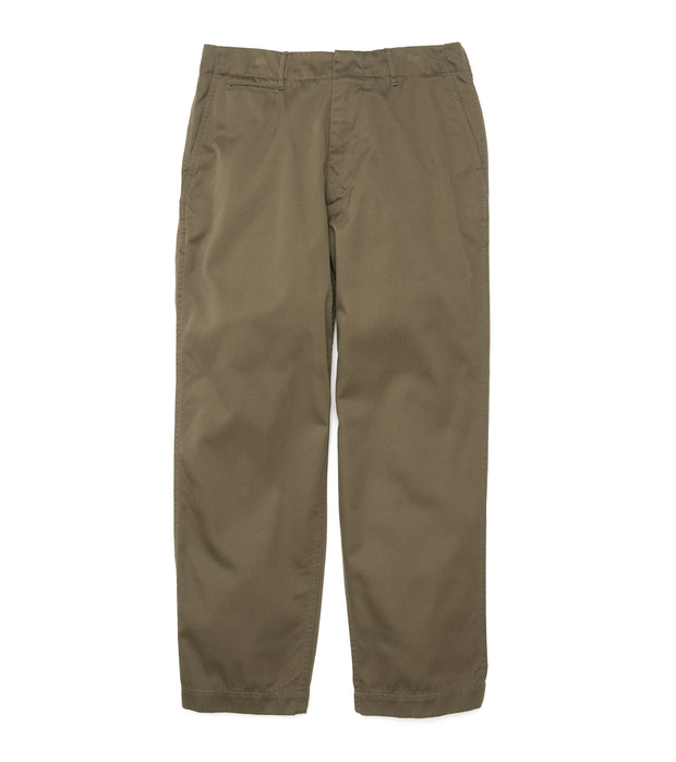 SUCF913_Wide Chino Pants_OL(Olive)