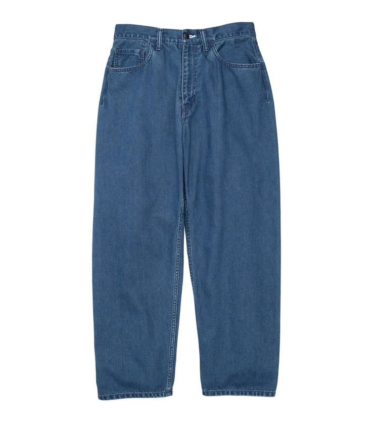 SUCF914_5 Pockets Pants_IB(Indigo Bleach)