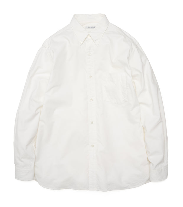 SUGF005_Button Down Wind Shirt_W(White)