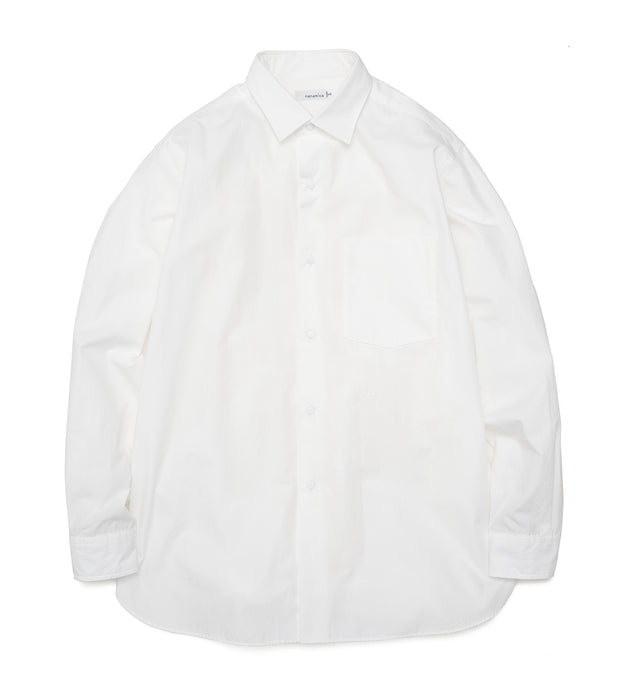 SUGF006_Regular Collar Wind Shirt_OW(Off White)