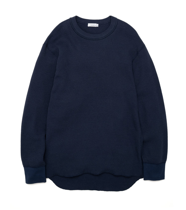 SUHF908_Crew Neck L/S Thermal Tee_N(Navy)