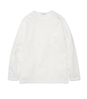 SUHF014_L/S Pocket Tee_W(White)