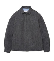 SUAF036_Wool GORE-TEX Jacket_Z(Mix Gray)
